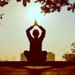 Meditatie oefening voor de ouderkamer